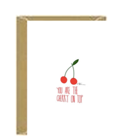 Cherry on Top Greeting Card