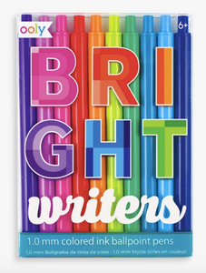 Bright Writers Colored Ballpoint