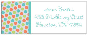 multi dots address labels