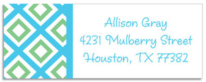 geo blue address labels