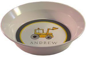 dig it personalized kids bowl
