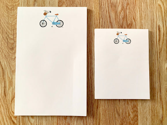 Bike Notepad - small