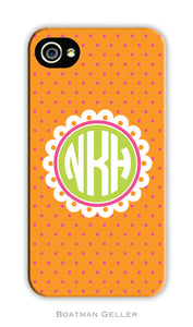 Lucy Orange Cell Phone Case