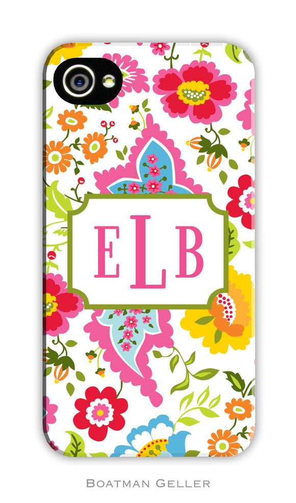 Bright Floral Cell Phone Case