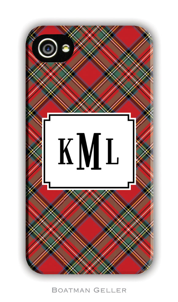 Plaid Red Cell Phone Case