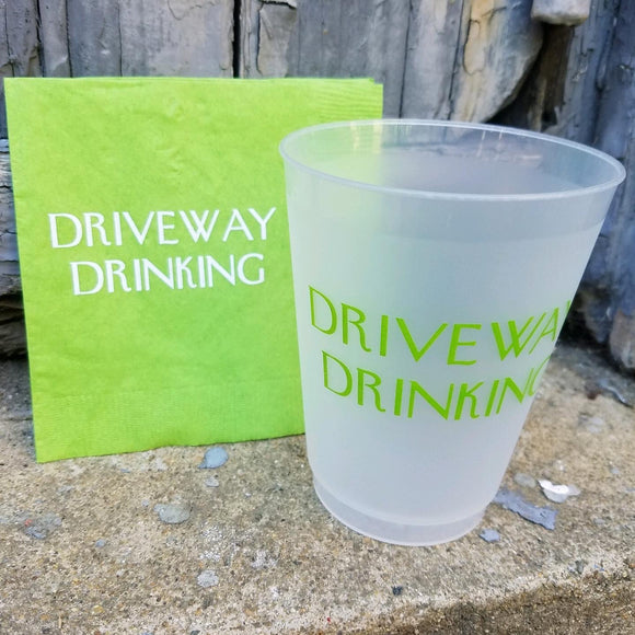 Driveway Drinking Cocktail Napkins