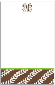 vines personalized notepad