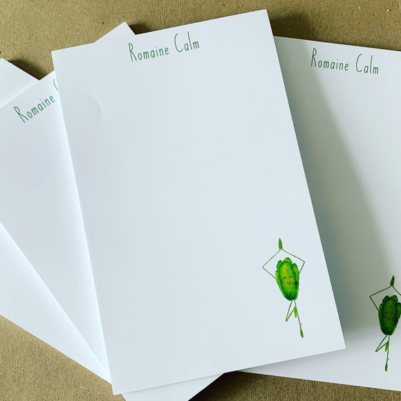 Romaine Calm Notepad