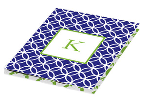 navy clover personalized tablet cover