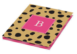 cheetah personalized tablet cover