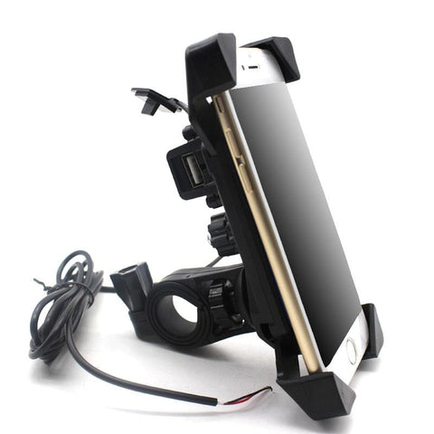 support téléphone scooter universel USB