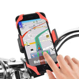Support téléphone vélo fixation smartphone silicone