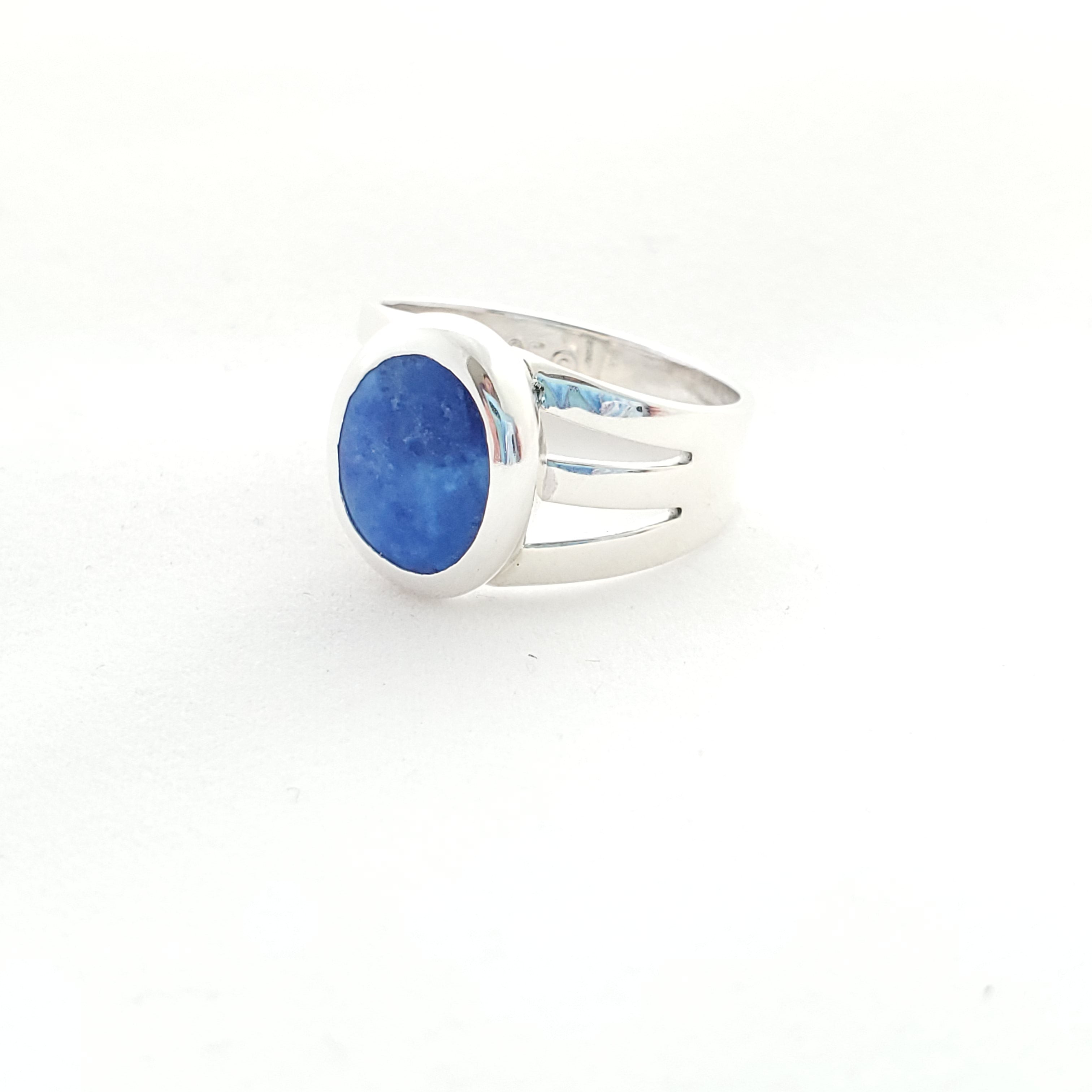 Side view of sodalite ring