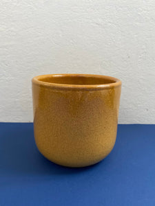 Hand Thrown Mustard Pot