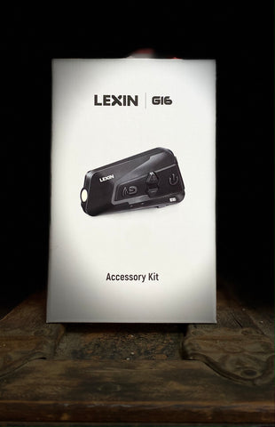 ALL NEW! Lexin G16 Accessory kit/Extra Helmet Kit