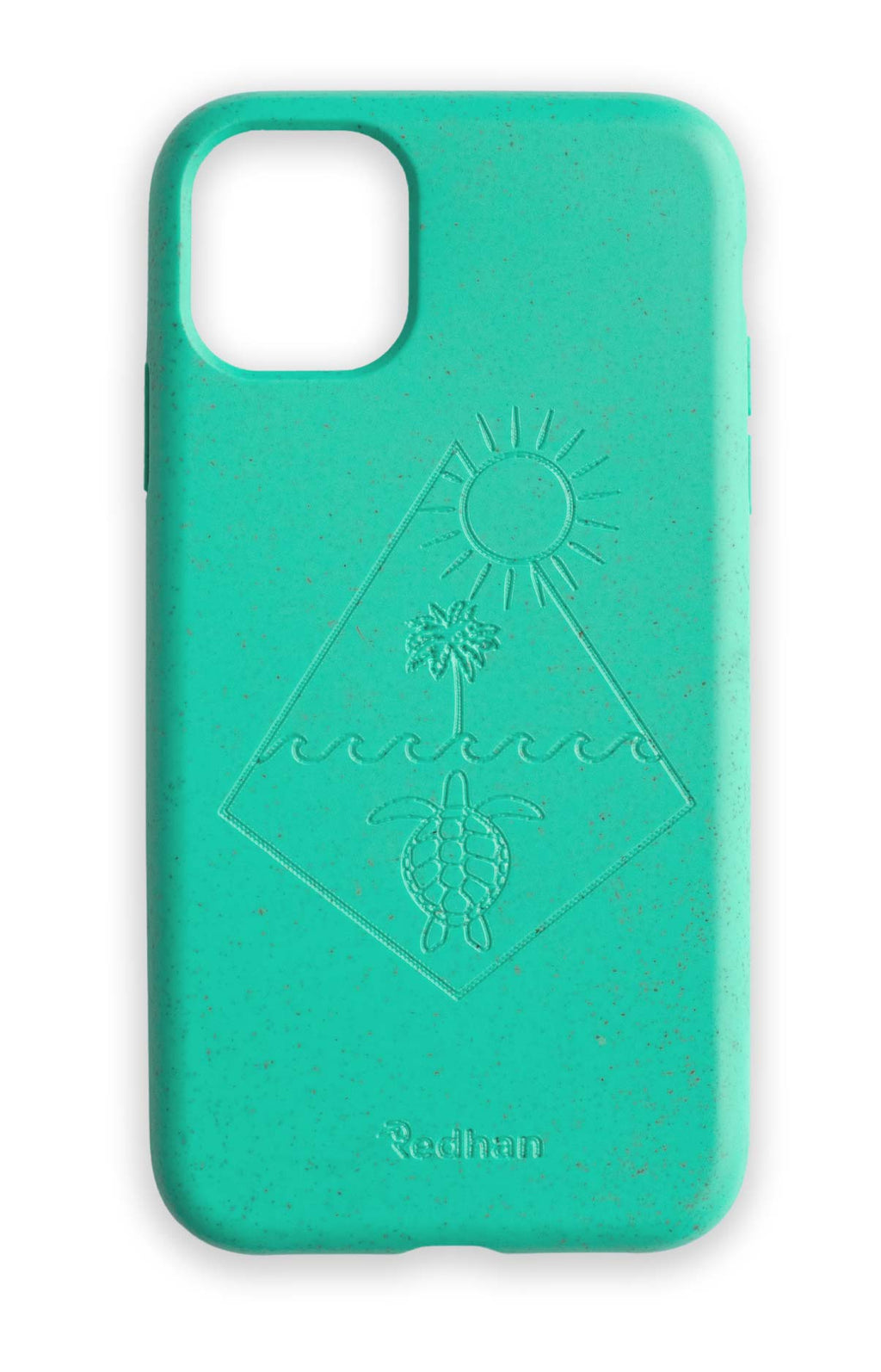 Eco Friendly iPhone 11 Phone Case - Turtle 2.0 in Turquoise