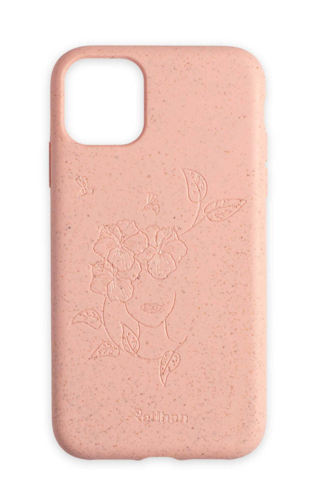 Eco Friendly iPhone 11 Phone Case - Bloom in Blush Pink