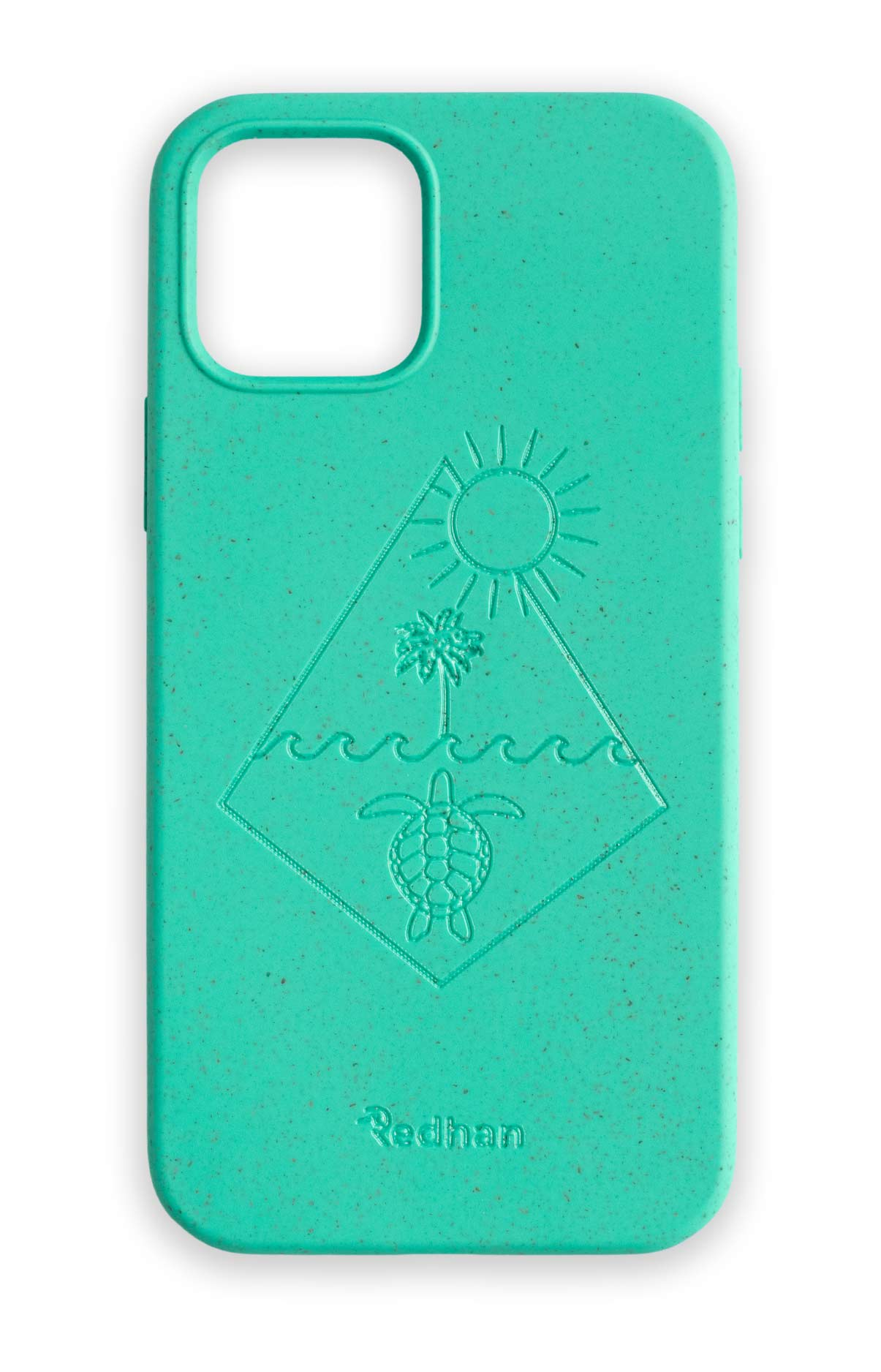 Eco Friendly iPhone 12 Mini Phone Case - Turtle 2.0 in Turquoise