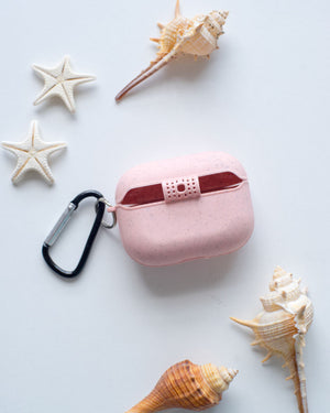Eco-Friendly Airpod Pro Case - Pink , Biodegradable