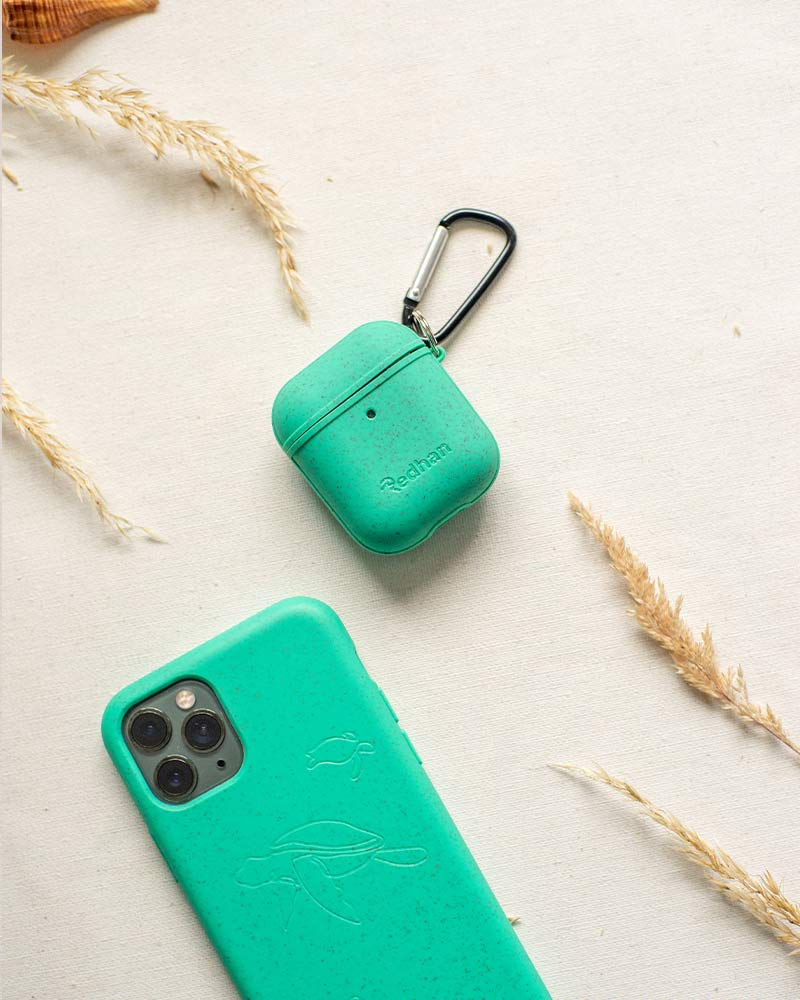 Eco Friendly AirPod Case - Turquoise