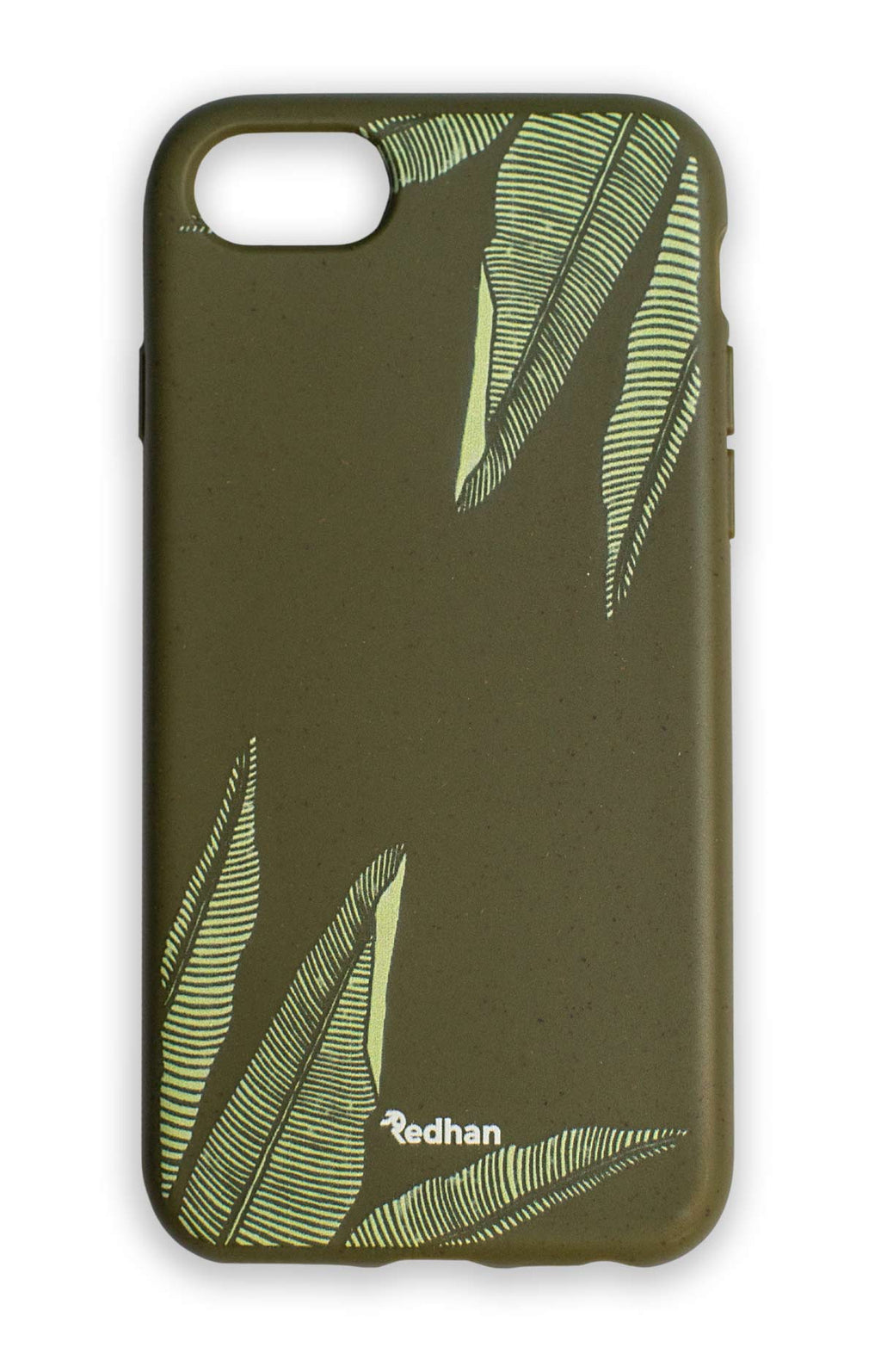 Eco Friendly iPhone 6/6S/7/8/SE (2nd Gen) Phone Case - Banana Leaf in Olive Green