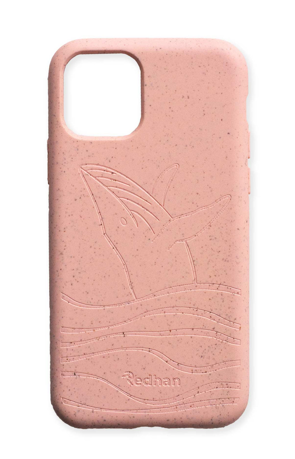 Eco Friendly iPhone 11 Pro Phone Case - Whale 2.0 in Blush Pink