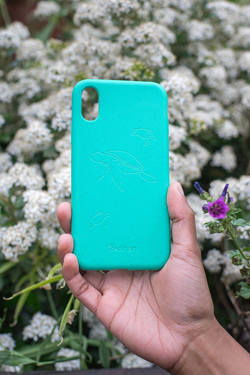 Eco Friendly iPhone XR - Turtle in Turquoise