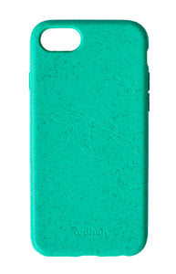 Eco Friendly iPhone  6/6S/7/8/SE (2nd Gen) Phone Case - Turtle in Turquoise