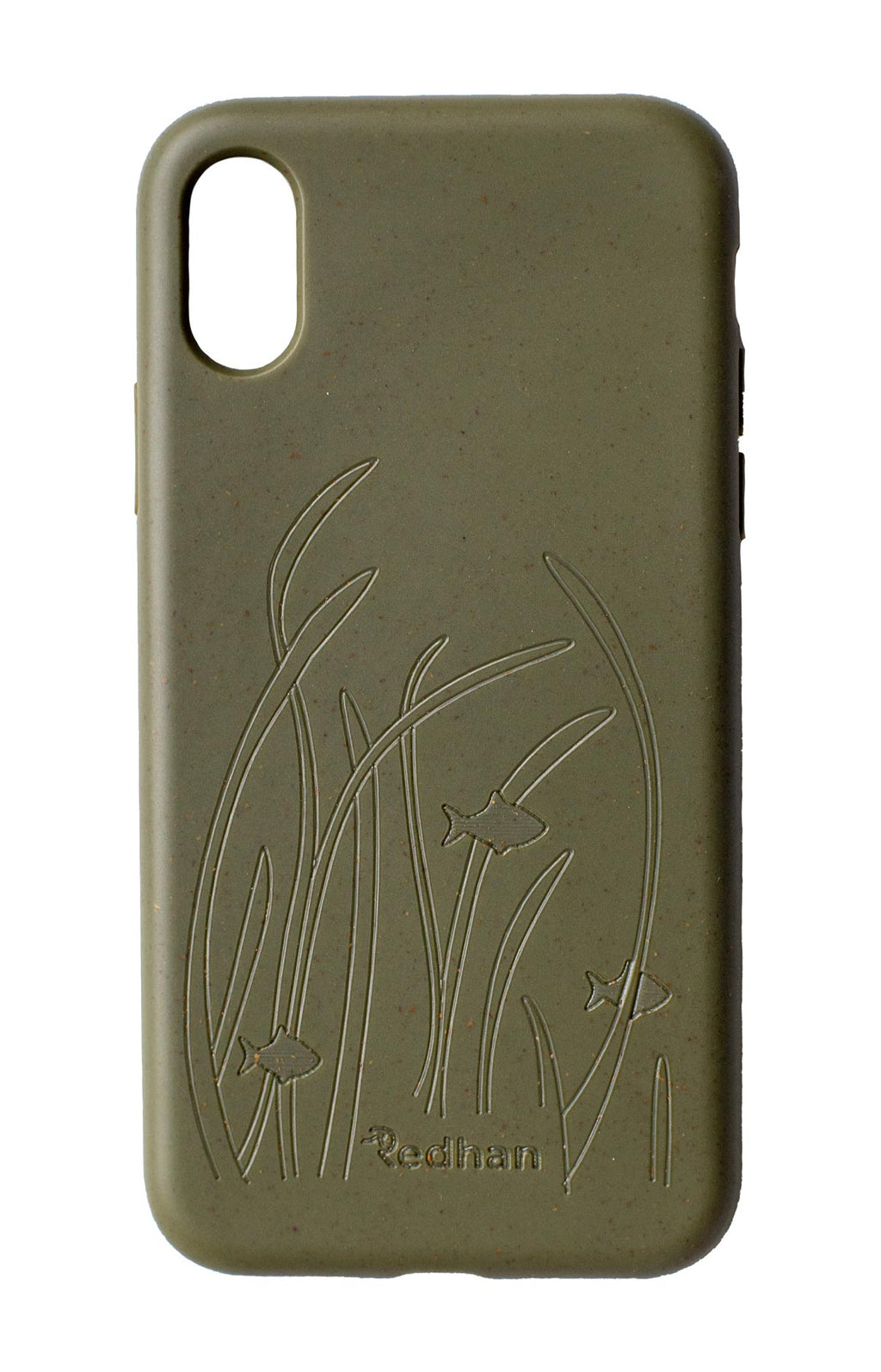 Eco Friendly iPhone X / XS Phone Case - Seagrass in Olive Green