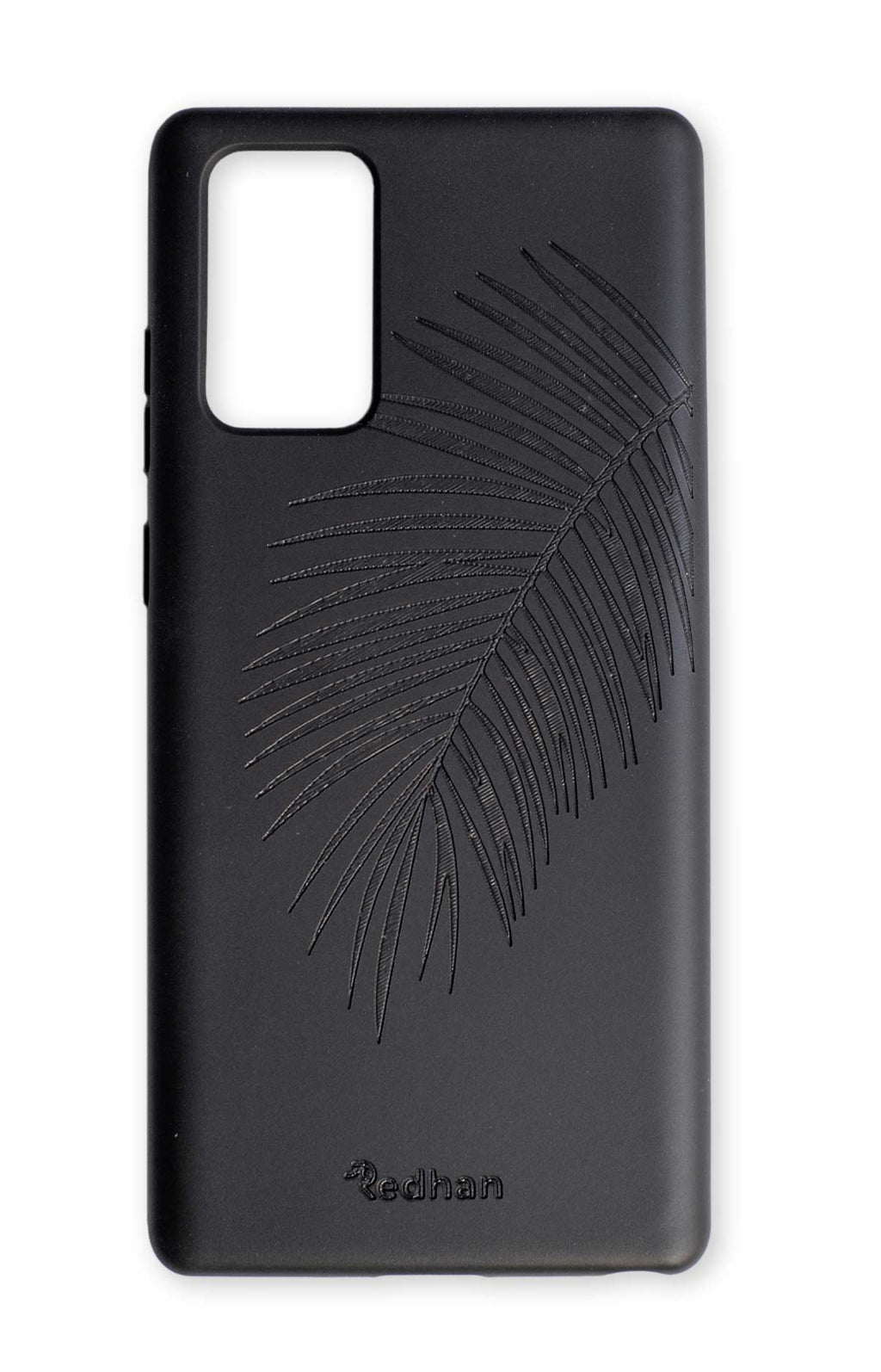 Eco Friendly Note 20 Phone Case - Palm Leaf in Pitch Black