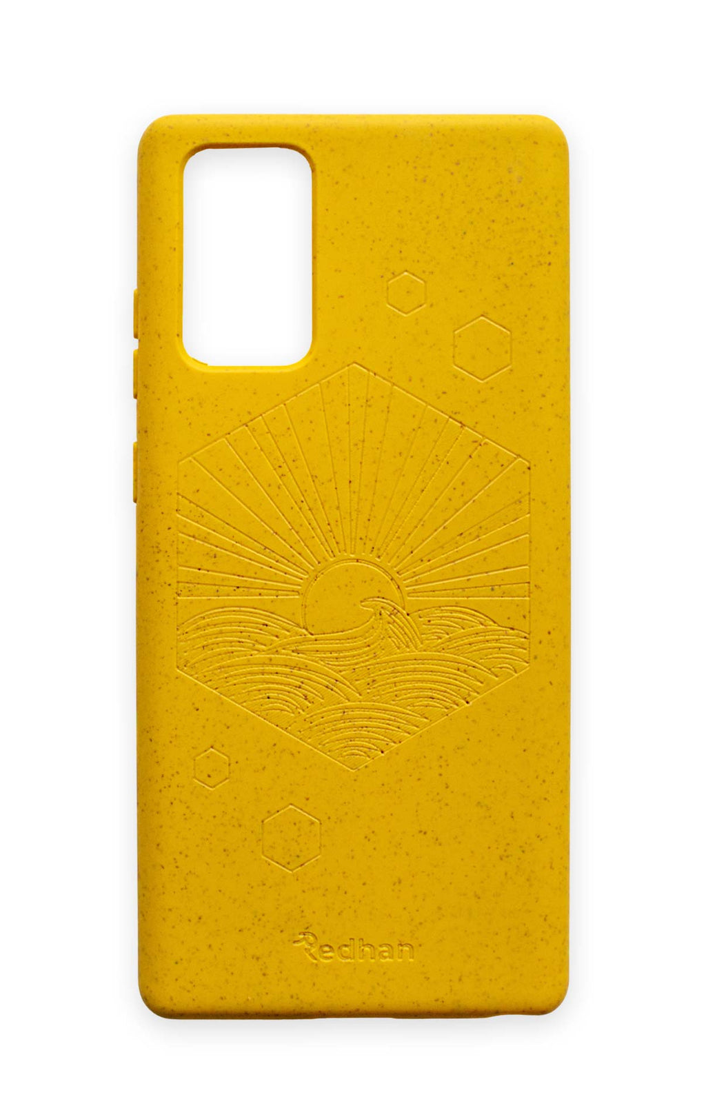Eco Friendly Galaxy Note 20 Phone Case - Sunset in Yellow