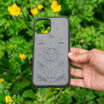Eco Friendly iPhone 11 Pro Phone Case - Our Planet in Charcoal Black