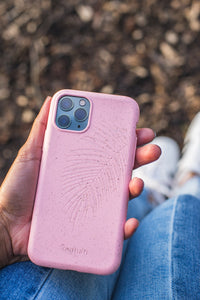 Eco-Friendly Phone Case Pink, iPhone 11 Pro Phone case in Pink