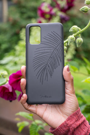 Eco-Friendly Phone Case Black, Samsung Galaxy S20+ Phone case in Black