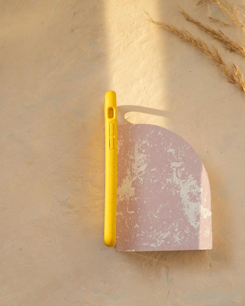 Eco Friendly iPhone 6/6S/7/8/SE (2nd Gen) Phone Case - Sunset in Yellow