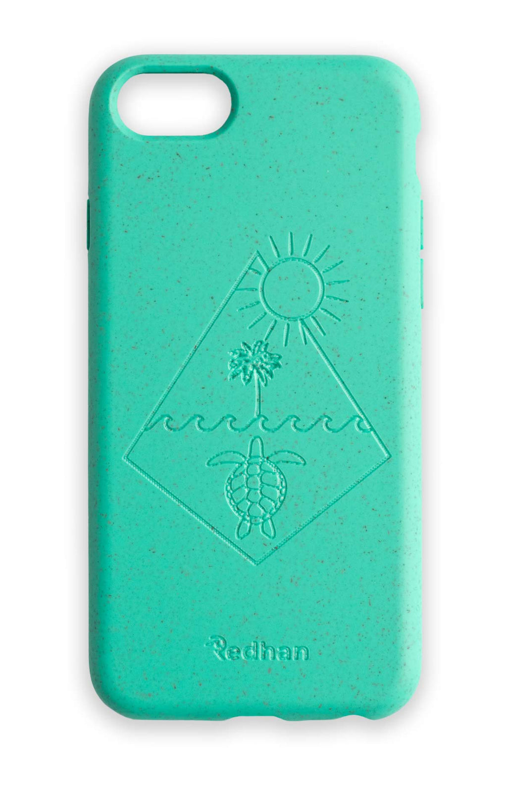Eco Friendly iPhone  6/6S/7/8/SE (2nd Gen) Phone Case - Turtle 2.0 in Turquoise
