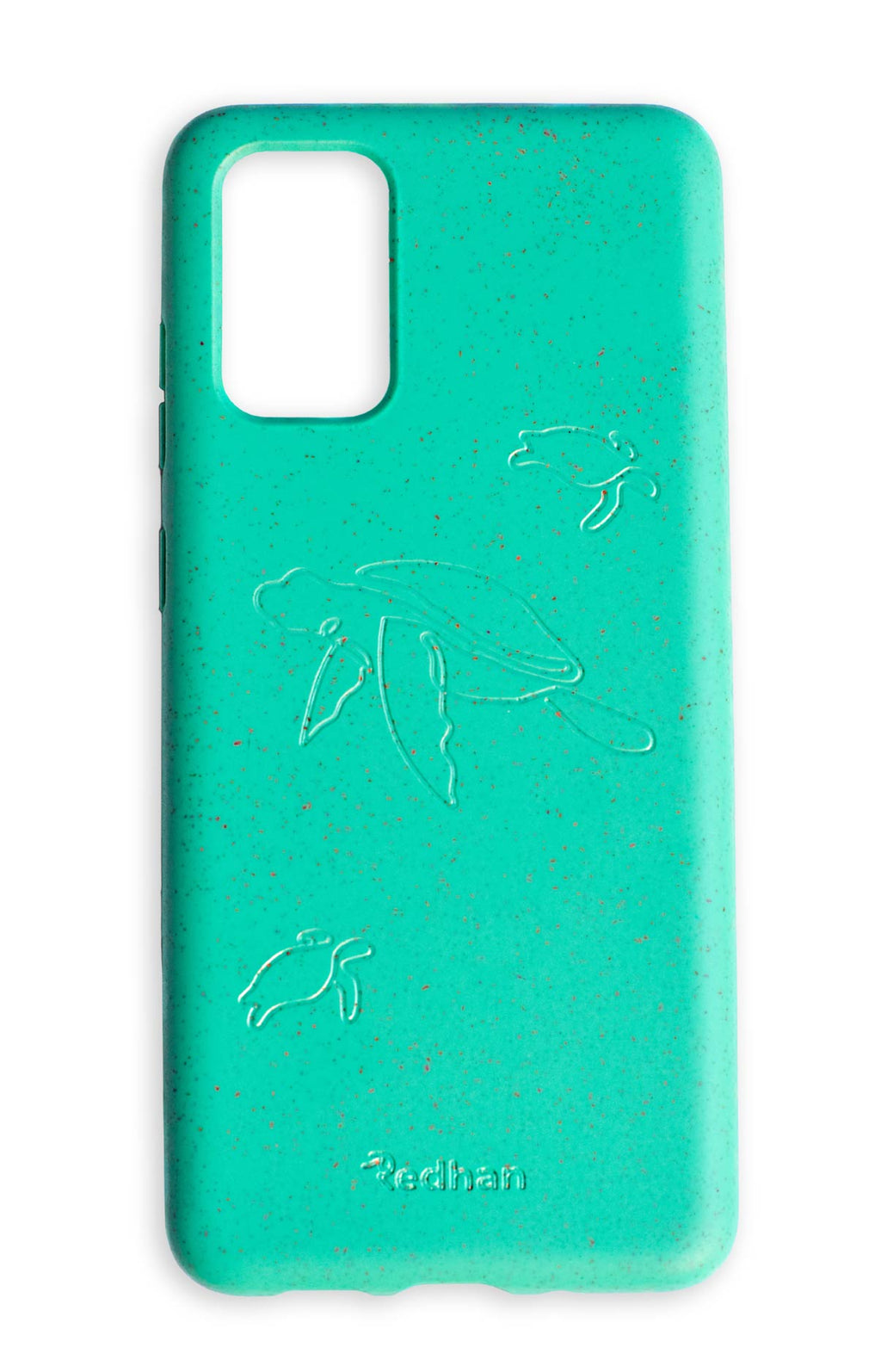 Eco Friendly Galaxy S20+ Phone Case - Turtle in Turquoise