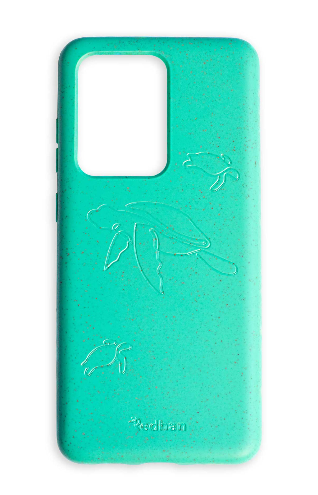 Eco Friendly Galaxy S20 Ultra Phone Case - Turtle in Turquoise