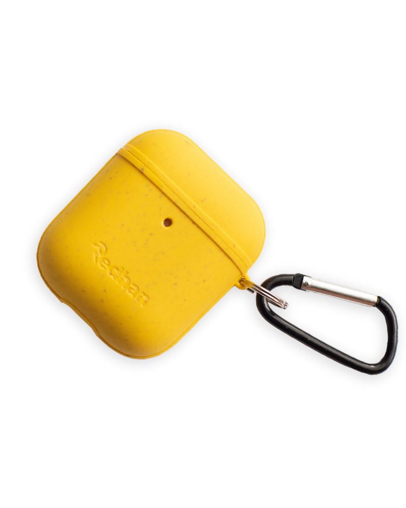 Eco-Friendly Airpod  Case - Yellow, Biodegradable