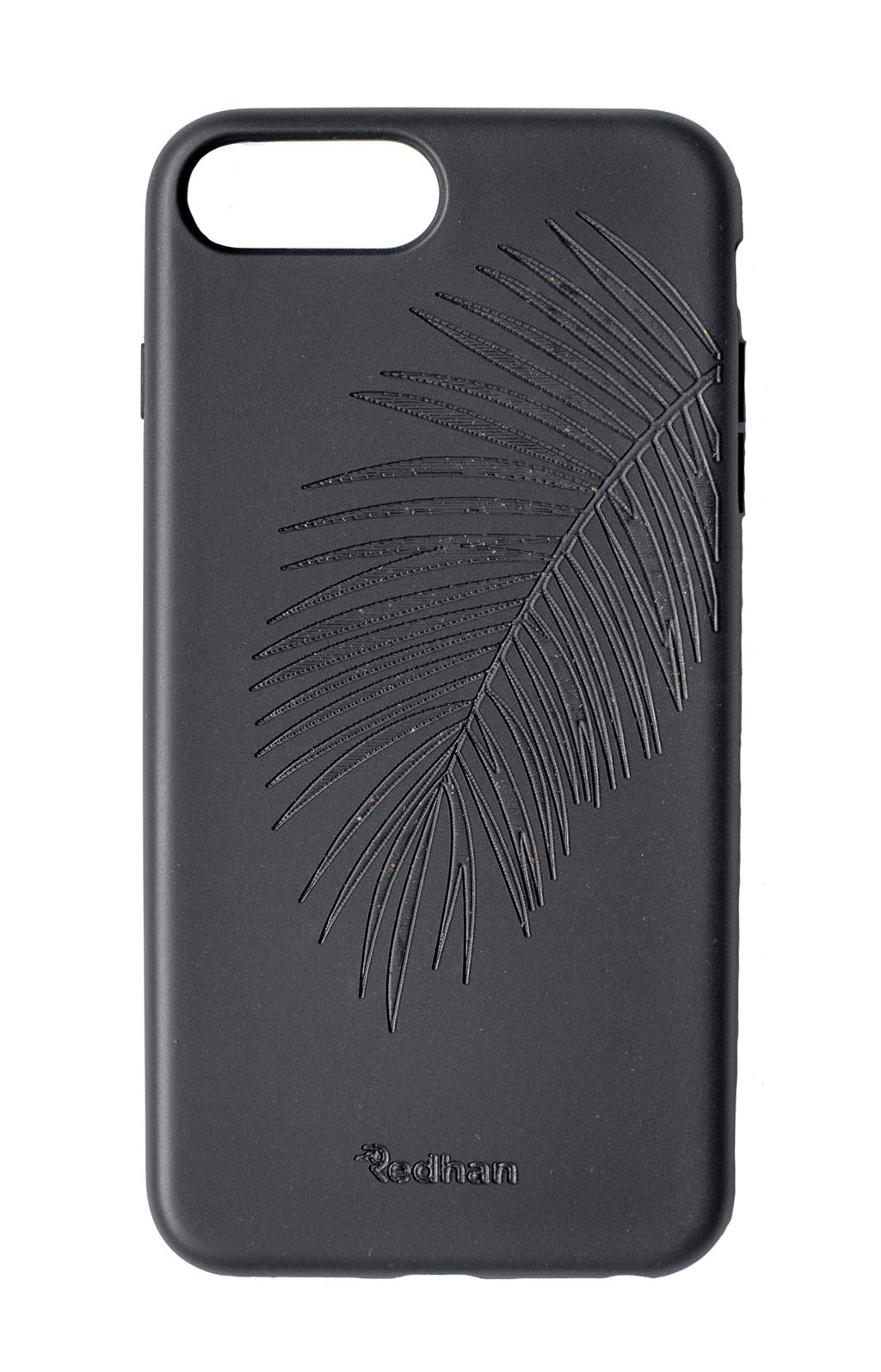 Palm Leaf in Pitch Black - iPhone 6/6S/7/8/SE(2nd gen)