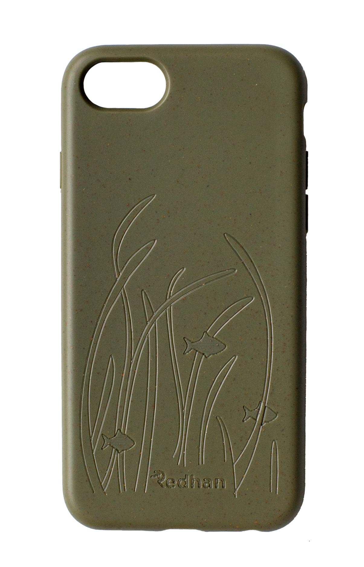Eco Friendly iPhone  6/6S/7/8/SE (2nd Gen) Phone Case - Seagrass in Olive Green