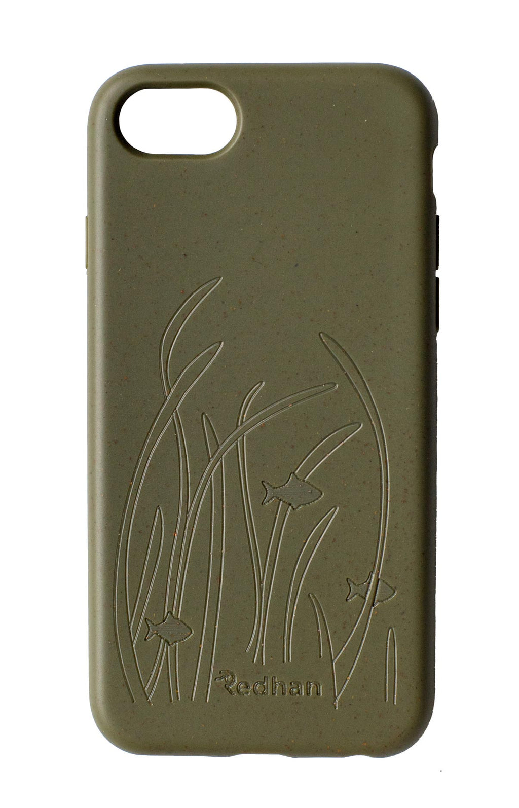 Eco Friendly iPhone 6+/6S+/7+/8+ Phone Case - Seagrass in Olive Green