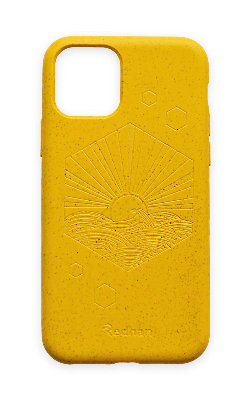 Eco-Friendly Phone Case Yellow,  iPhone 11 Pro Phone case in Yellow, Biodegradable