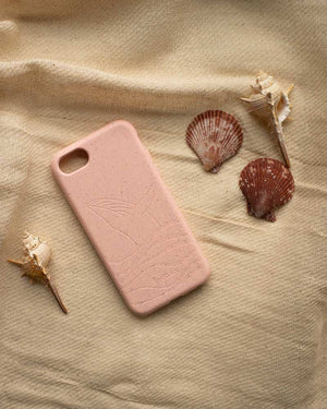 Biodegradable Eco-Frienldy Phone Case, Pink iPhone 6/6S/7/8/SE (2nd Gen) Phone Case