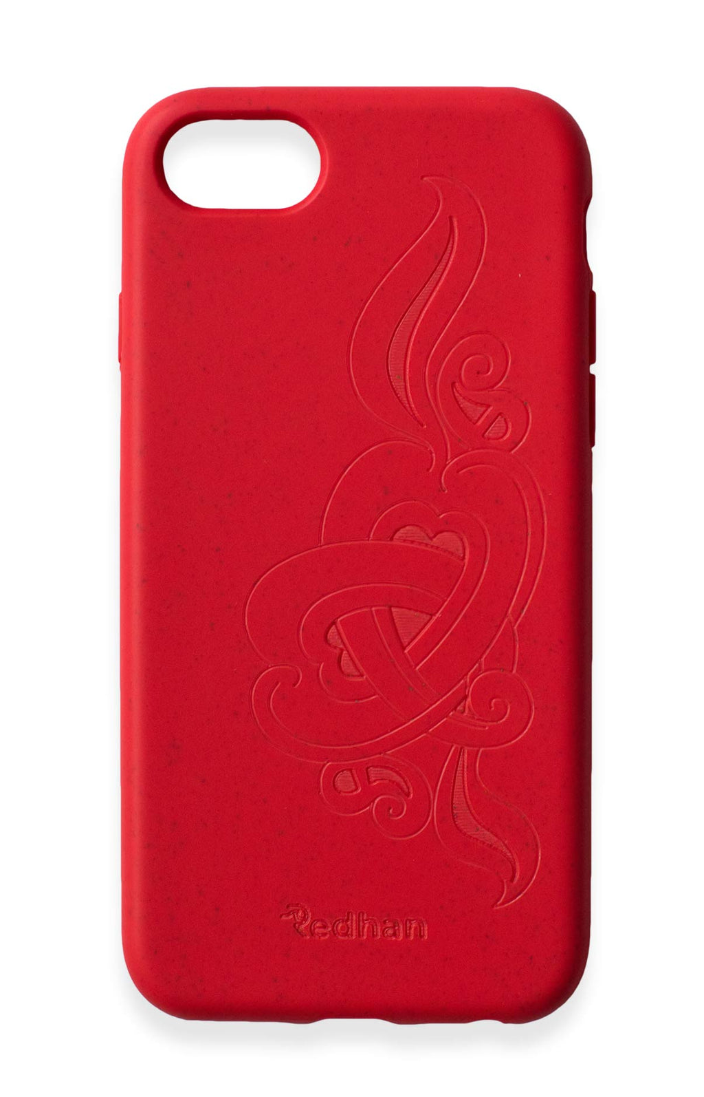 'Hirigaa' or Stone Art in Ruby Red - iPhone 6/6S/7/8/SE (2nd Gen)