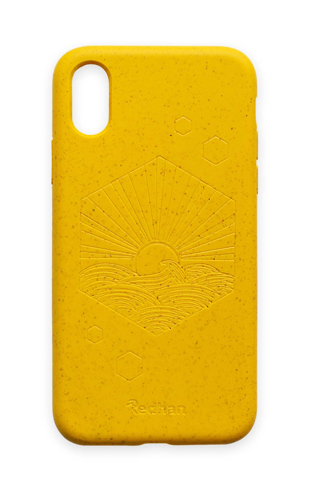 Eco-Friendly Phone Case Yellow, iPhone XR Phone case in Yellow, Biodegradable