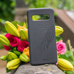 Eco-Friendly Phone Case Black, Samsung Galaxy S10+ Phone case in Black