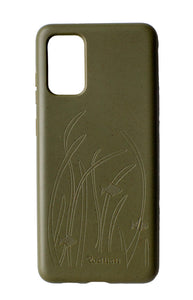 Eco Friendly Galaxy S20+ Phone Case - Seagrass in Olive Green