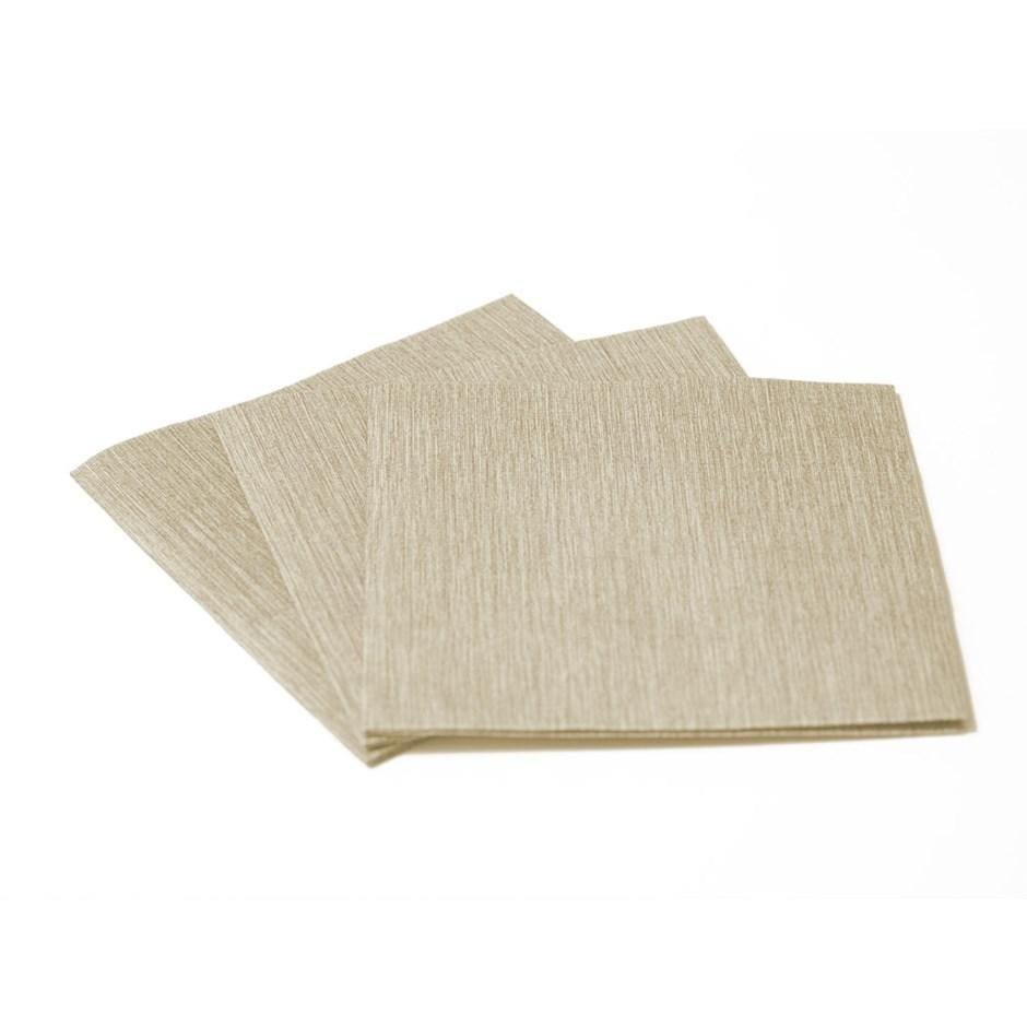 Bar Taupe Cocktail Napkin
