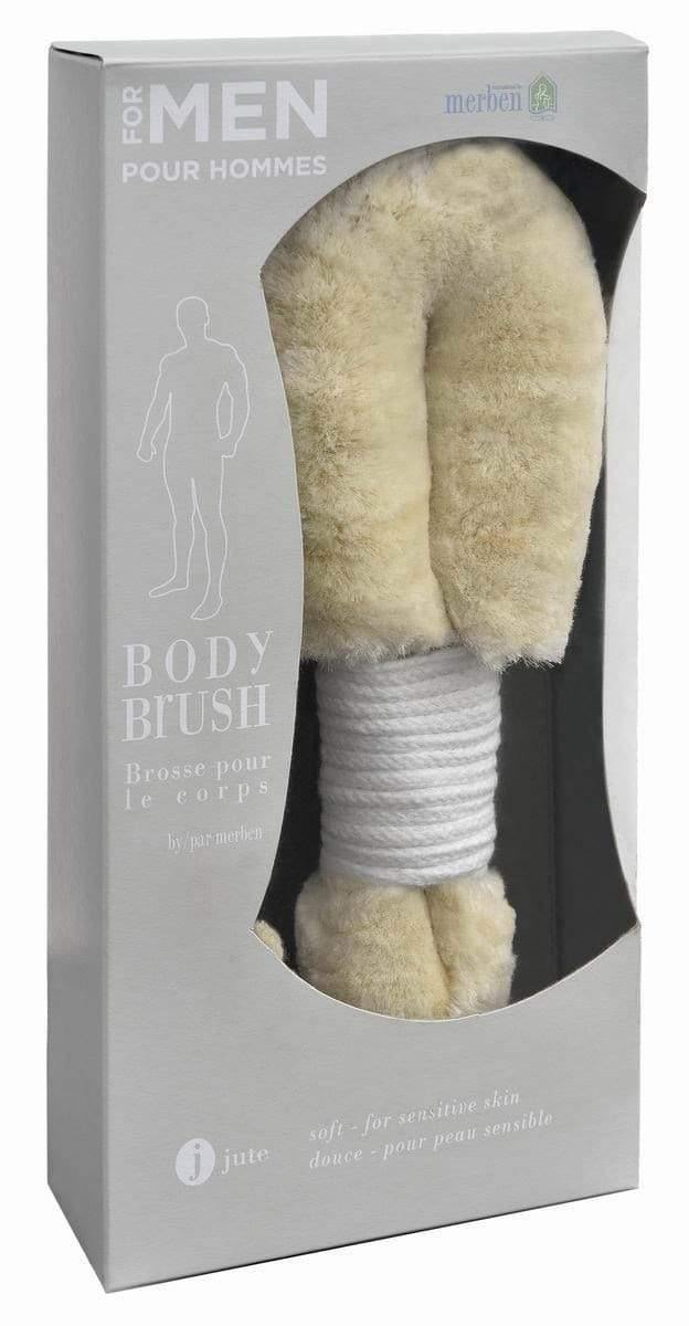 Bath Jute Body Brush Mens